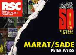 marat sade advert