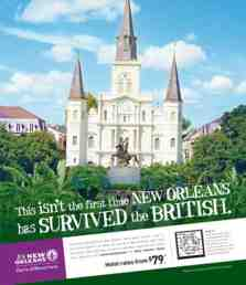 new orleans survives advert