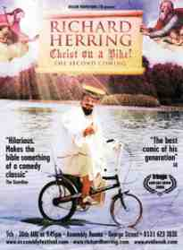 richard herring christ on a bike advert