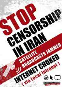stop censorship in iran advert