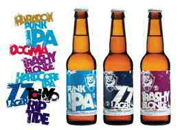 brewdog bottle advert
