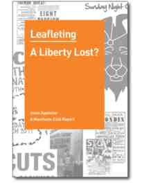 leafletting report