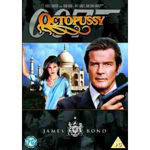 Bond Remastered Octopussy 1 disc DVD