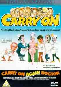 Carry Again Doctor Kenneth Williams