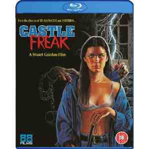 Castle Freak Blu ray Jeffrey Combs