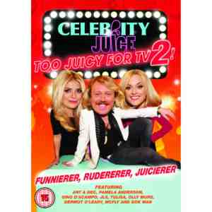 Celebrity Juice Too Juicy DVD