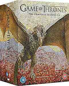 Game of Thrones - Season 1-6 DVD