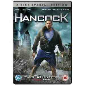 Hancock Disc DVD Will Smith