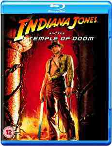 Indiana Jones Temple Doom Blu ray