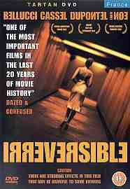 Irreversible DVD Monica Bellucci