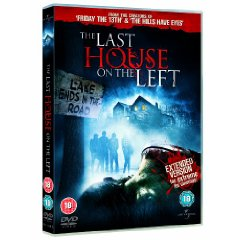 Last House on the Left 2009 DVD