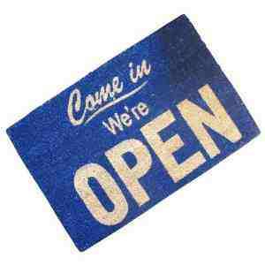 Novelty Come Doormat 60x40cm Outdoor