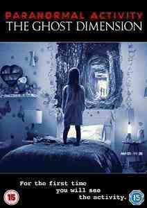 Paranormal Activity Ghost Dimension DVD