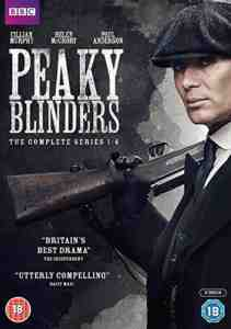 Peaky Blinders - Series 1 – 4 DVD