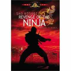 Revenge of the Ninja DVD cover