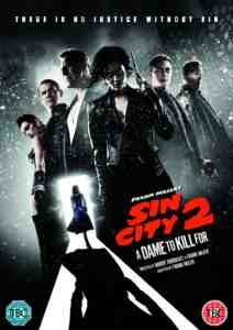 Sin City Dame Kill DVD