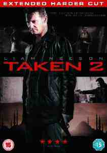 Taken Extended Harder Cut DVD