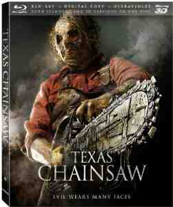 Texas Chainsaw Blu ray Digital UltraViolet