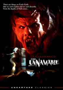 The Unnamable DVD