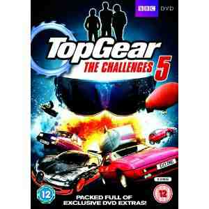 Top Gear The Challenges DVD