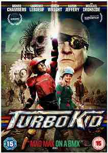 Turbo Kid DVD Munro Chambers