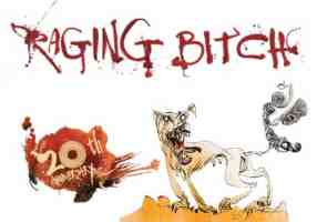 raging bitch beer logo
