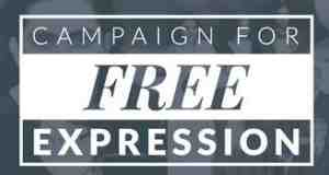 campaign for free expression logo