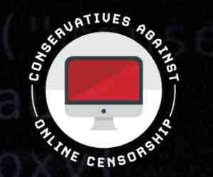 conservatives against online censorship logo