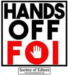 hands off foi logo