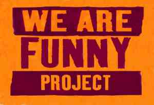 we are funny project logo