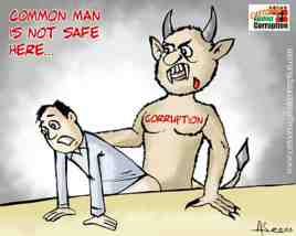 cartoons against corruption