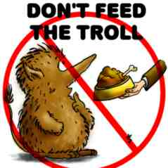 dont feed the troll