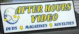 After Hours Video sign
