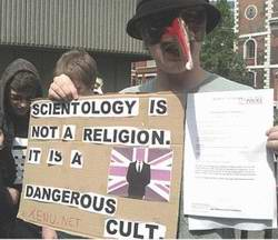 Scientology is not a religion, it is a dangerous cult