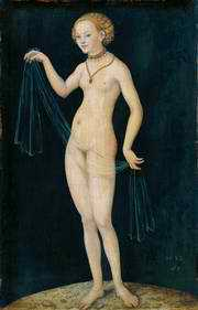 Venus by Lucas Cranach the Elder, 1532