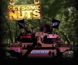 Snickers Mr T tank advert