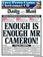 daily mail on davod cameron