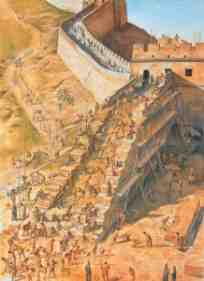 great wall construction