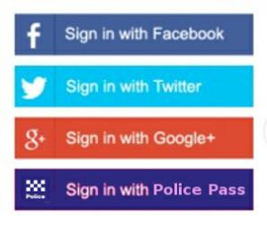 sign in with police pass