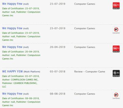 we happy few ratings