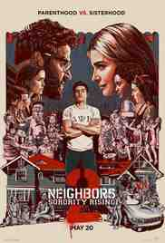 Poster Bad Neighbours 2 2016 Nicholas Stoller