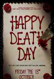 Poster Happy Death Day 2017 Christopher Landon
