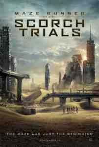 Poster Maze Runner the Scorch Trials 2015 Wes Ball