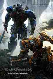 Poster Transformers the Last Knight 2017 Michael Bay