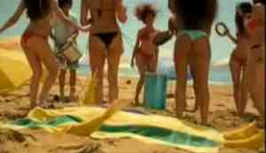 pot noodle beach towel video